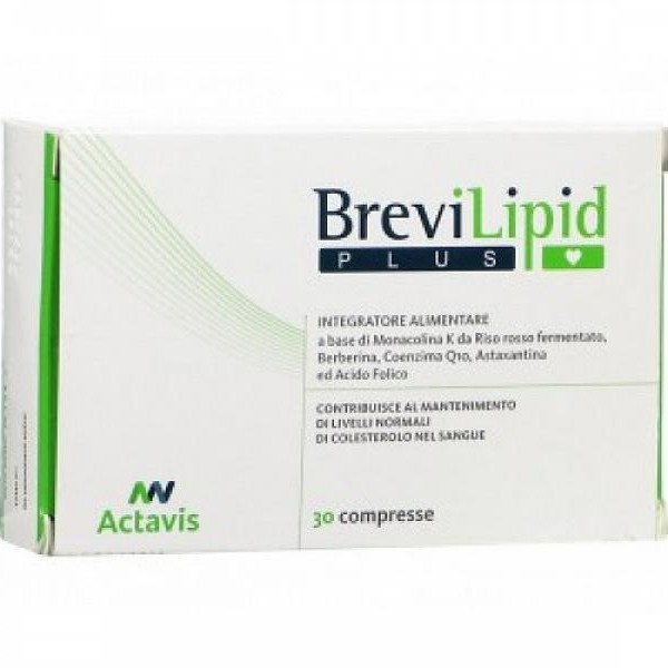 brevilip plus 30 compresse