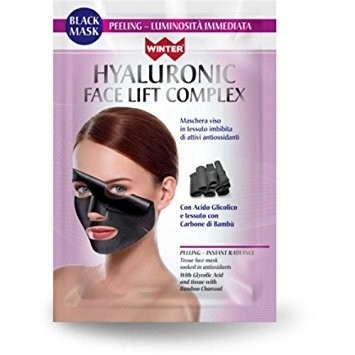 winter hyaluronic face lift complex maschera viso